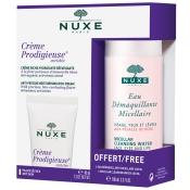 NUXE Crème Prodigieuse® Enrichie + Eau Démaquillante Micellaire aux Pétales de Rose