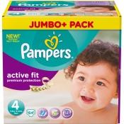 Pampers® Active Fit Gr. 4 7-18 Kg Jumbopack
