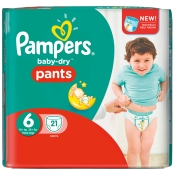 Pampers® baby-dry pants Gr. 6 Extra Large 16+kg Sparpack