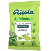 Ricola® Schweizer Kräuterbonbons Apfelminze ohne Zucker