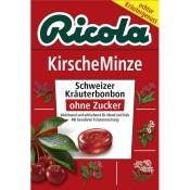 Ricola® Schweizer Kräuterbonbons Kirsche-Minze ohne Zucker