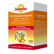 Sanhelios® 333 Knoblauch-Kapseln + Mistel + Weißdorn