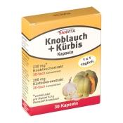 SANVITA Knoblauch + Kürbis Kapseln