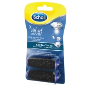 Scholl Velvet Smooth Pedi wet & dry Ersatzrollen Diamantpartikel extra stark