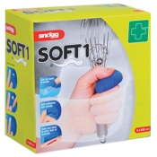 Snögg Soft1 6 cm x 5 m blau