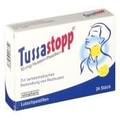 Tussastopp® 10 mg Husten-Pastillen