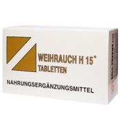 WEIHRAUCH H15 Tabletten