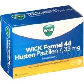 WICK Formel 44 Husten-Pastillen 7,33 mg