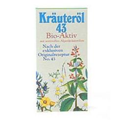 43-Kräuteröl Bio Aktiv