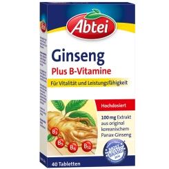 Abtei Ginseng Plus B-Vitamine
