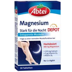 Abtei Magnesium Stark für die Nacht
