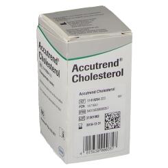 Accutrend® Cholesterol Teststreifen