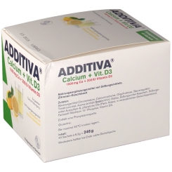 ADDITIVA® Calcium 1000 mg + Vitamin D 3 Pulver