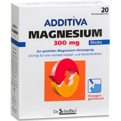 ADDITIVA® Magnesium 300 mg Sticks Orange