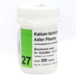 Adler Pharma Kalium bichromicum D12 Biochemie nach Dr. Schüßler Nr. 27