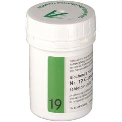 Adler Schüssler Salze Nr. 19 Cuprum arsenicosum D12