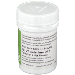 Adler Schüssler Salze Nr. 26 Selenium D12