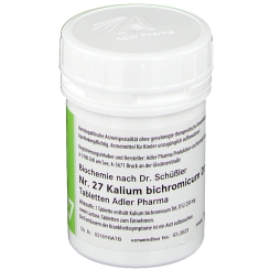 Adler Schüssler Salze Nr. 27 Kalium bichromicum D12