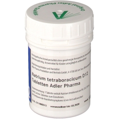 Adler Schüssler Salze Nr. 32 Natrium tetraboracicum D12