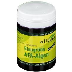 allcura Blaugrüne AFA-Algen 250 mg Tabletten