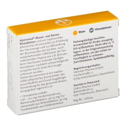 Alpinamed® Blasen- und Nierenfilmtabletten