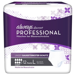 always discreet Professional Pants Super Large
