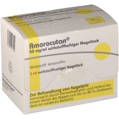 Amorocutan 50 mg/ml wirkstoffhaltiger Nagellack