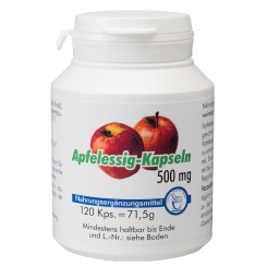Apfelessig-Kapseln 500mg