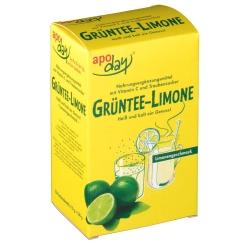 apoday® Limone Vitamin C + Grüntee-Extrakt Pulver