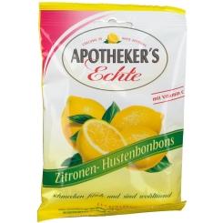 Apotheker´s Echte Zitrone Hustenbonbons