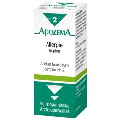 APOZEMA® Acidum formicicum complex Allergie Tropfen Nr. 2
