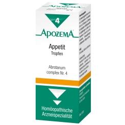 APOZEMA® Appetit Abrotantum complex Tropfen Nr. 4