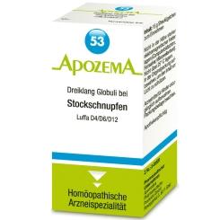 APOZEMA® Nr. 53 Dreiklang Globuli bei Stockschnupfen