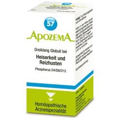 APOZEMA® Nr. 57 Dreiklang Globuli bei Heiserkeit und Reizhusten