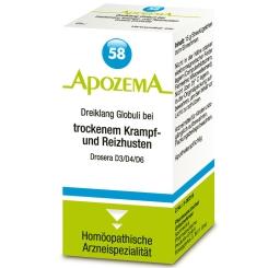 APOZEMA® Nr. 58 Dreiklang Globuli bei trockenem Krampf- und Reizhusten