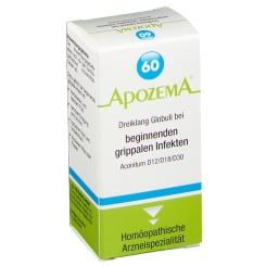 APOZEMA® Nr. 60 Dreiklang Globuli bei beginnenden grippalen Infekten