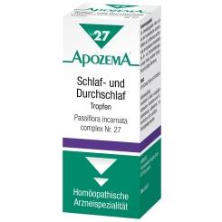 APOZEMA® Schlaf- und Durchschlaf-Tropfen Nr. 27