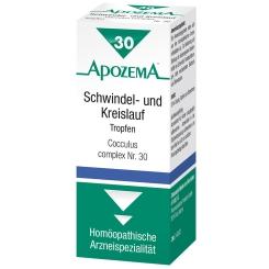 APOZEMA® Schwindel- und Kreislauf-Tropfen Nr. 30