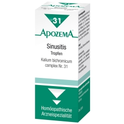 APOZEMA® Sinusitis-Tropfen Nr. 31