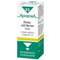 APOZEMA® Stress- und Nerven-Tropfen Nr. 33