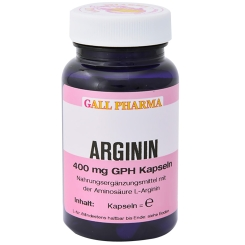 Arginin 400 mg GPH Kapseln