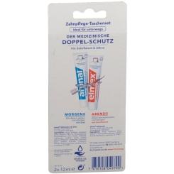 aronal® und elmex® Zahnpflege Taschenset Blisterpackung