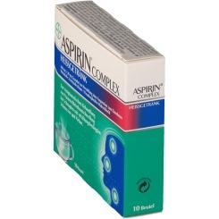 Aspirin® Complex Heißgetränk 500 mg / 30 mg