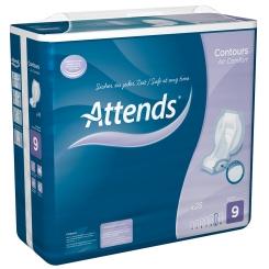 Attends® Contours Air Comfort 9 Einlagen