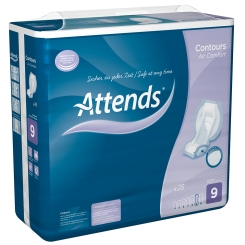Attends® Contours Air Comfort 9 Vorlagen