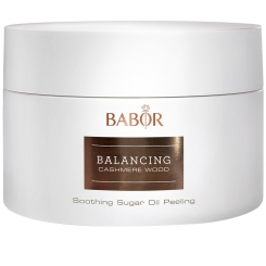 BABOR SPA Balancing Cashmere Wood Soothing Sugar Oil Peeling