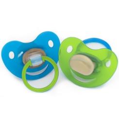 BabyFrank Beruhigungssauger, Kirschform, 6 - 18 Monate, Größe 2
