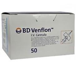 BD Venflon™ 2 22G 0,8 x 25mm Verweilkanüle