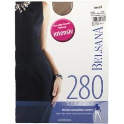 BELSANA 280den Glamour Strumpfhose Größe small Farbe perle kurz