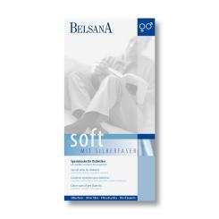 BELSANA soft Spezialsocke Gr. 42-44 Farbe schwarz